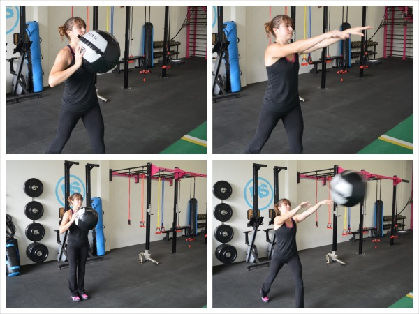 The Med Ball Upper Body Workout