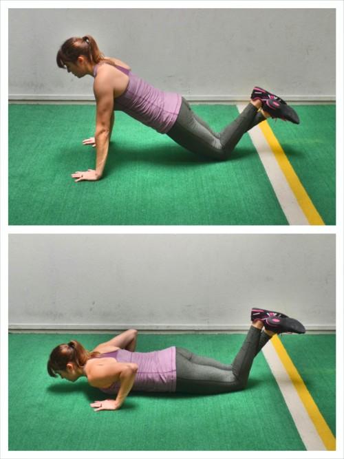 knee-push-up