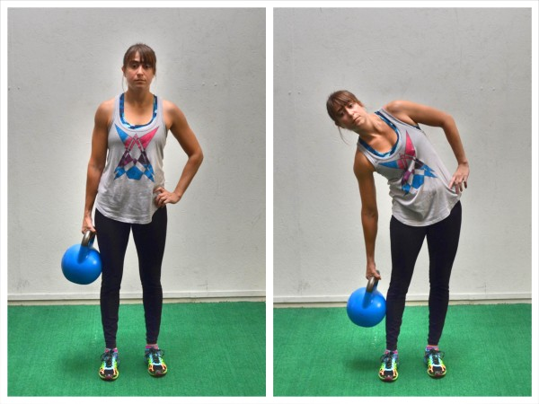The Standing Kettlebell Core Workout