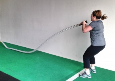The 15-Minute Battling Ropes Tsunami Workout