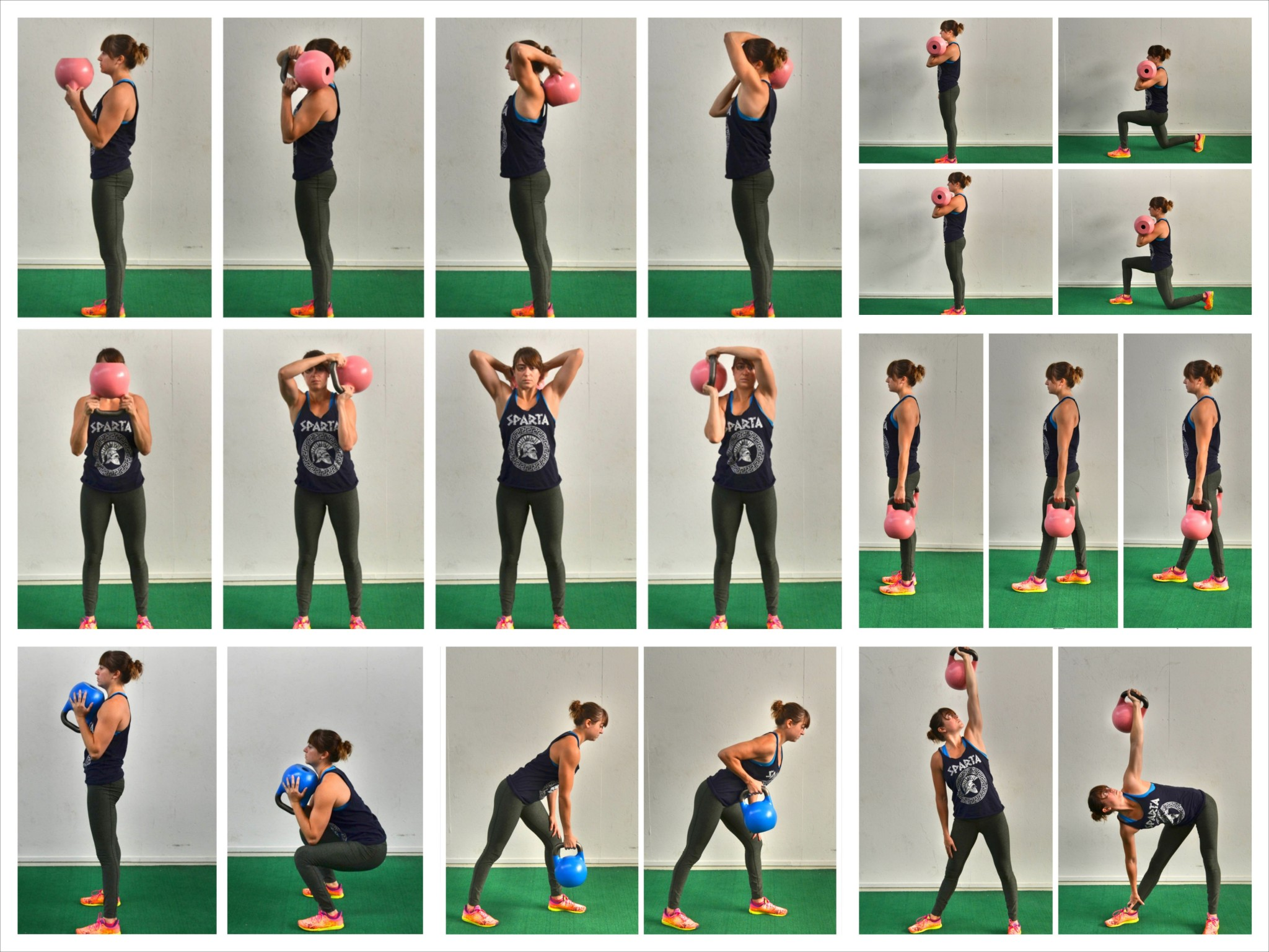 There are a TON of great moves you can do with a kettlebell. You can ...