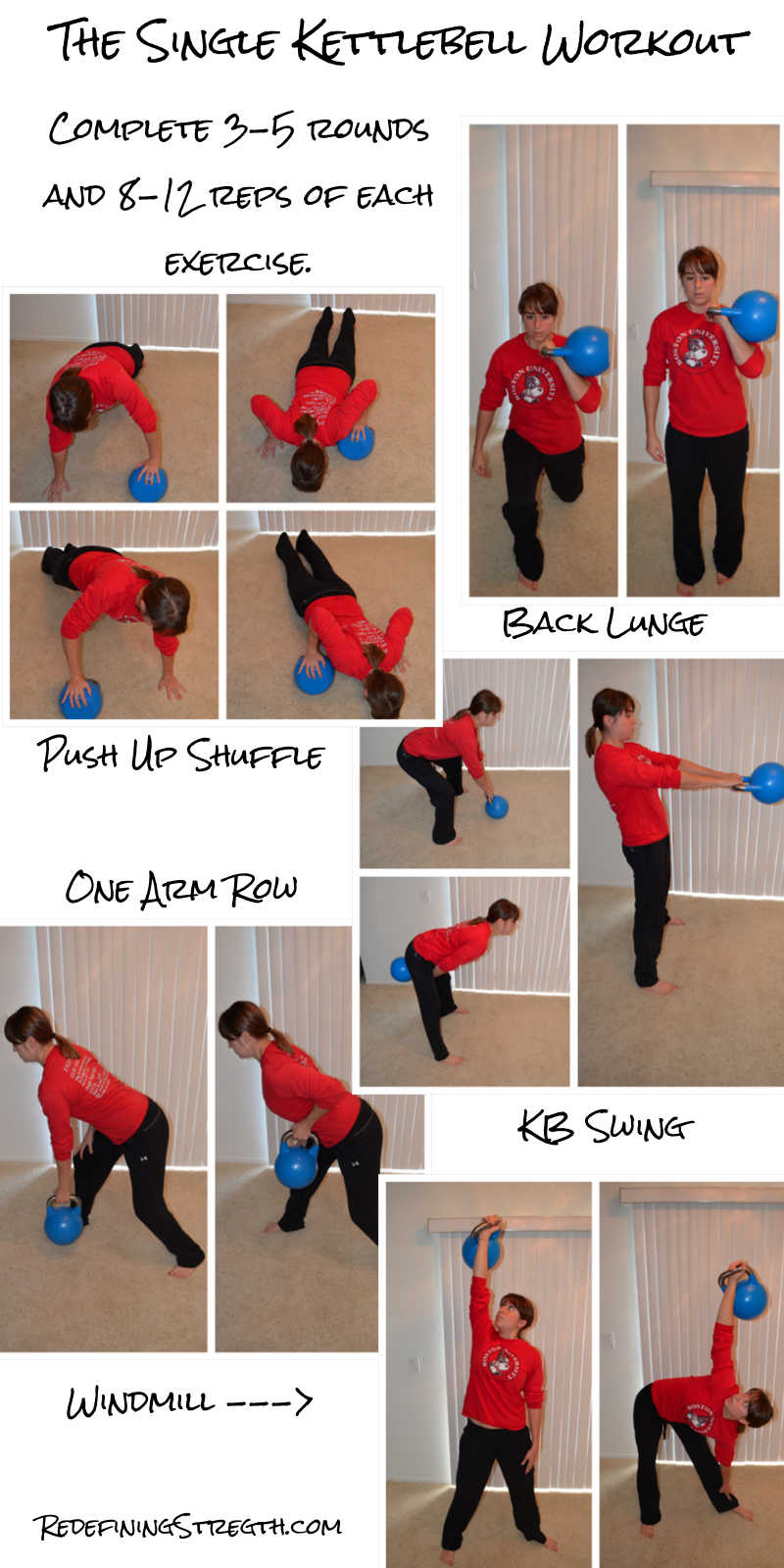 quick kettlebell full body workout