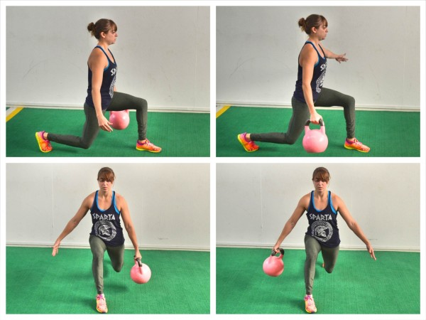 how to make lunges easier