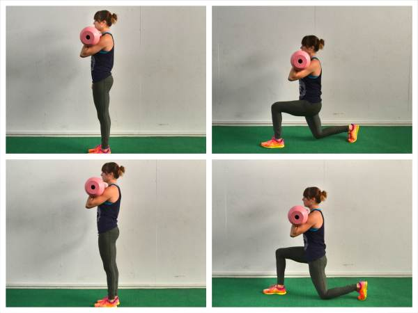 The Lunge With Twist Exercise picture