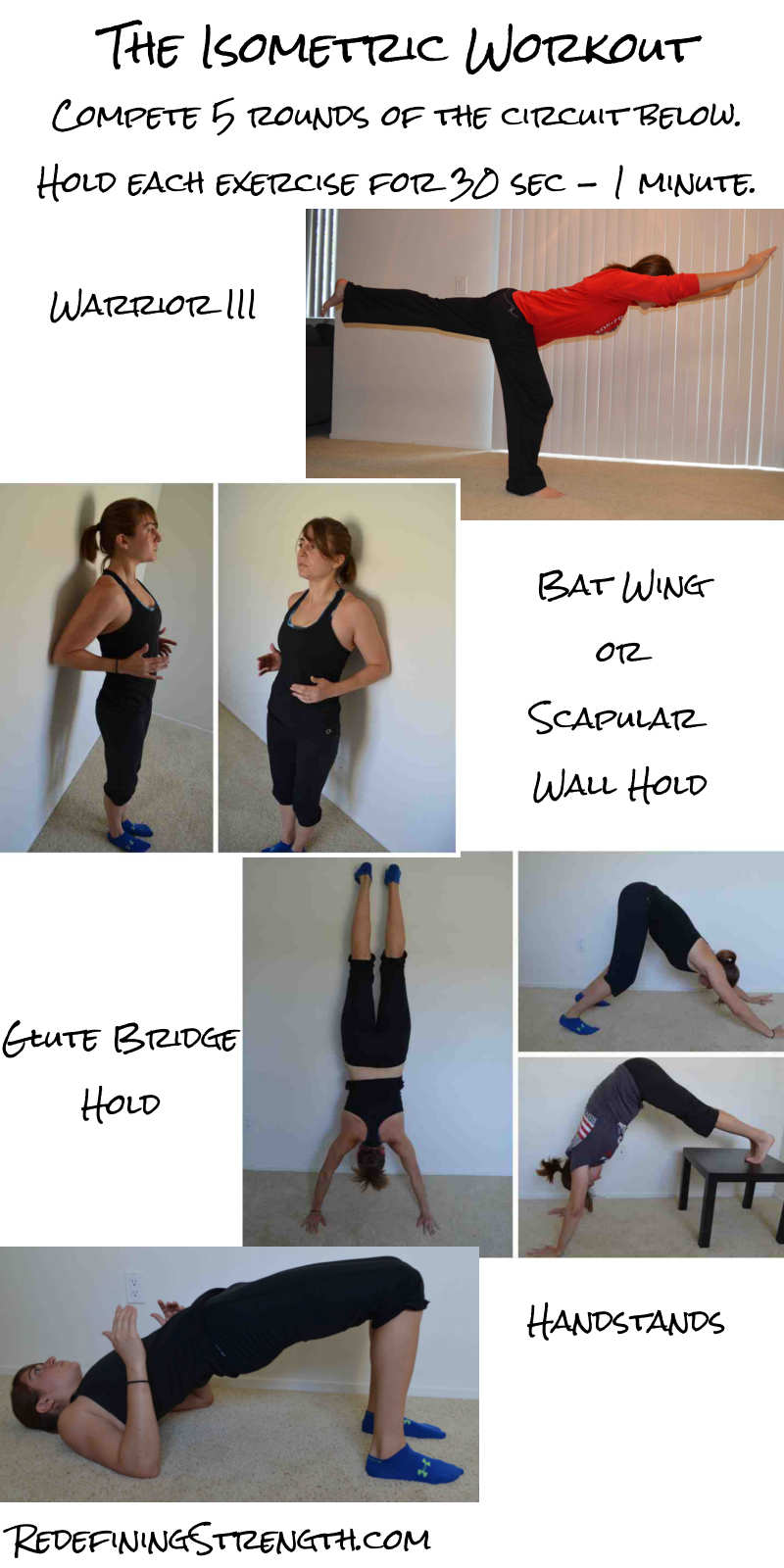 Quick Full Body Isometric Workout