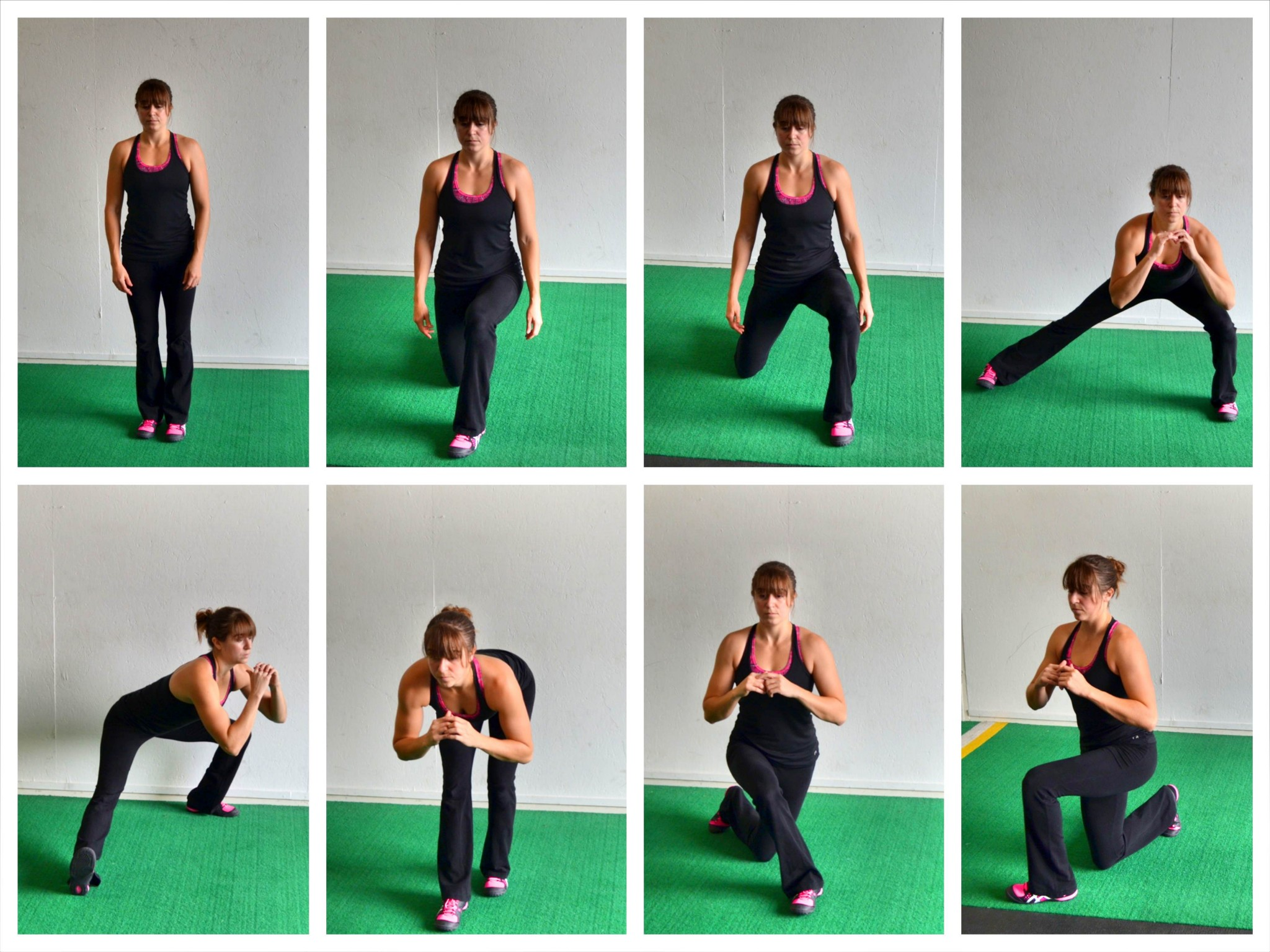Lunge in Every Direction With The Lunge Matrix