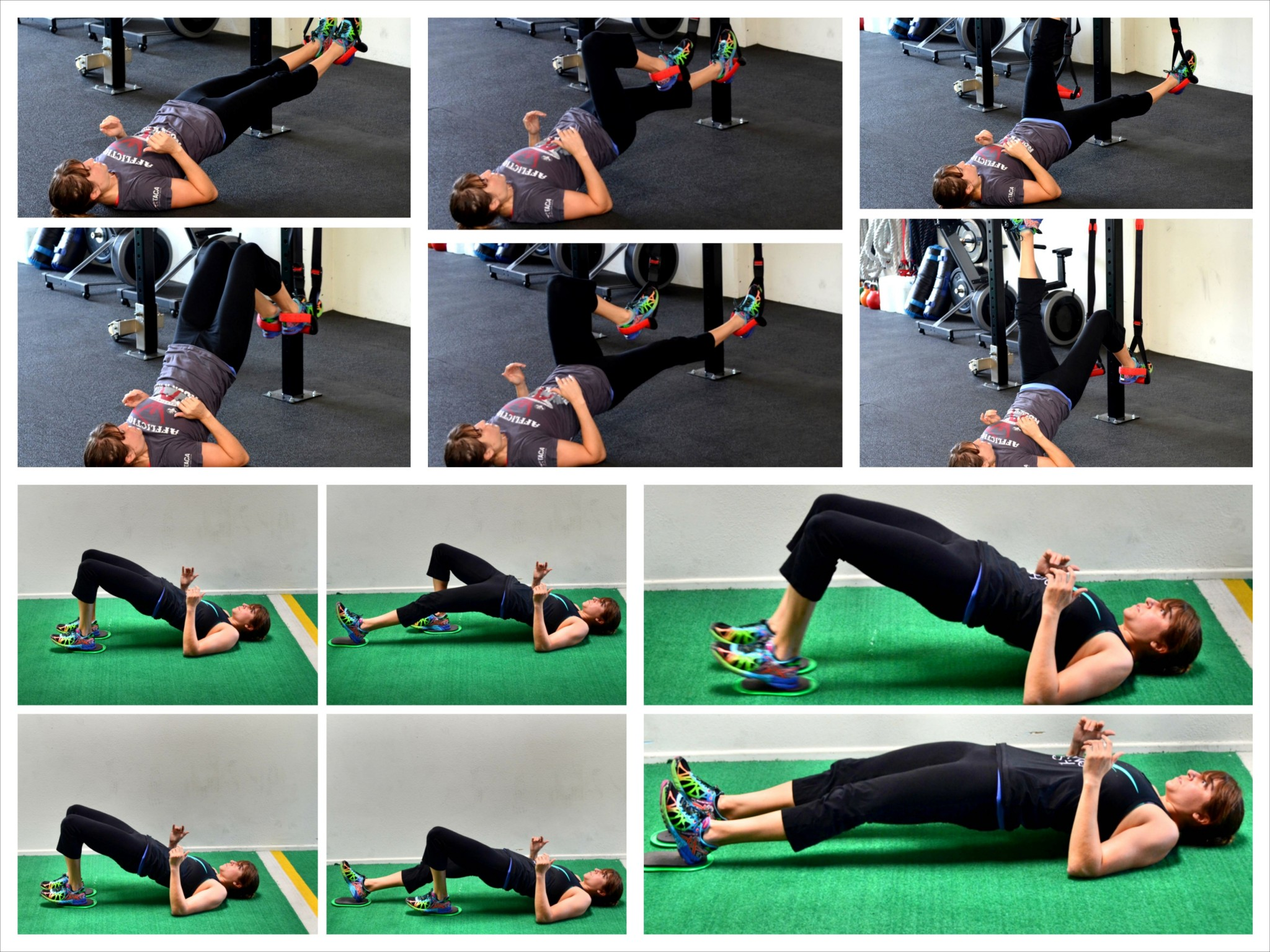 The Glute Bridge and Curl