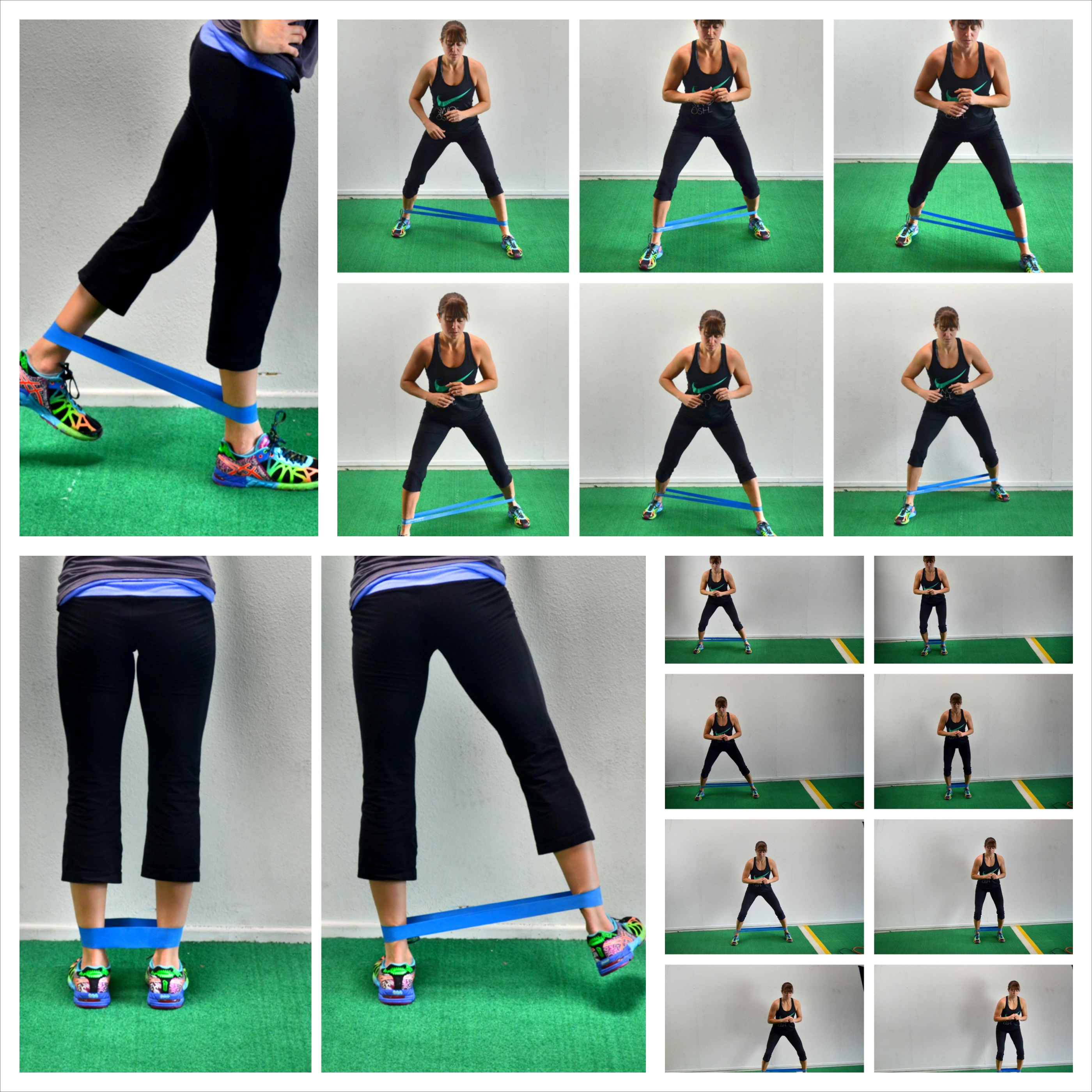 mini band glute exercises
