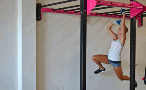Monkey Bar Workout