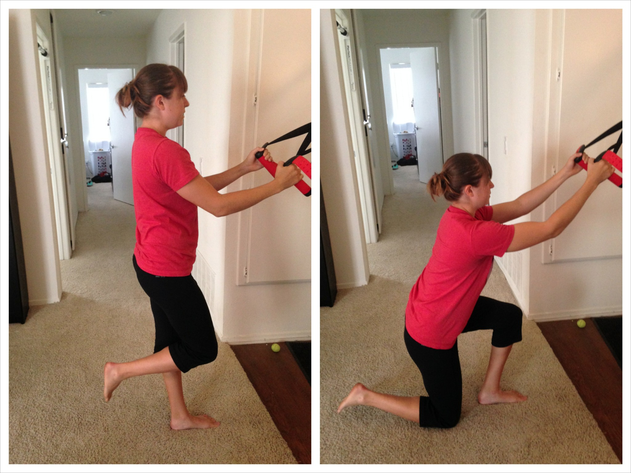 modified airborne lunge