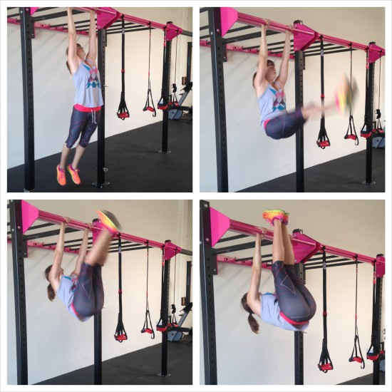 Hanging Toes to Bar