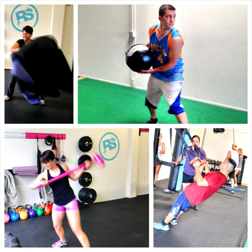 Circuit Training Combining Cardiovacular Work With Weight: Circuit Training Workouts