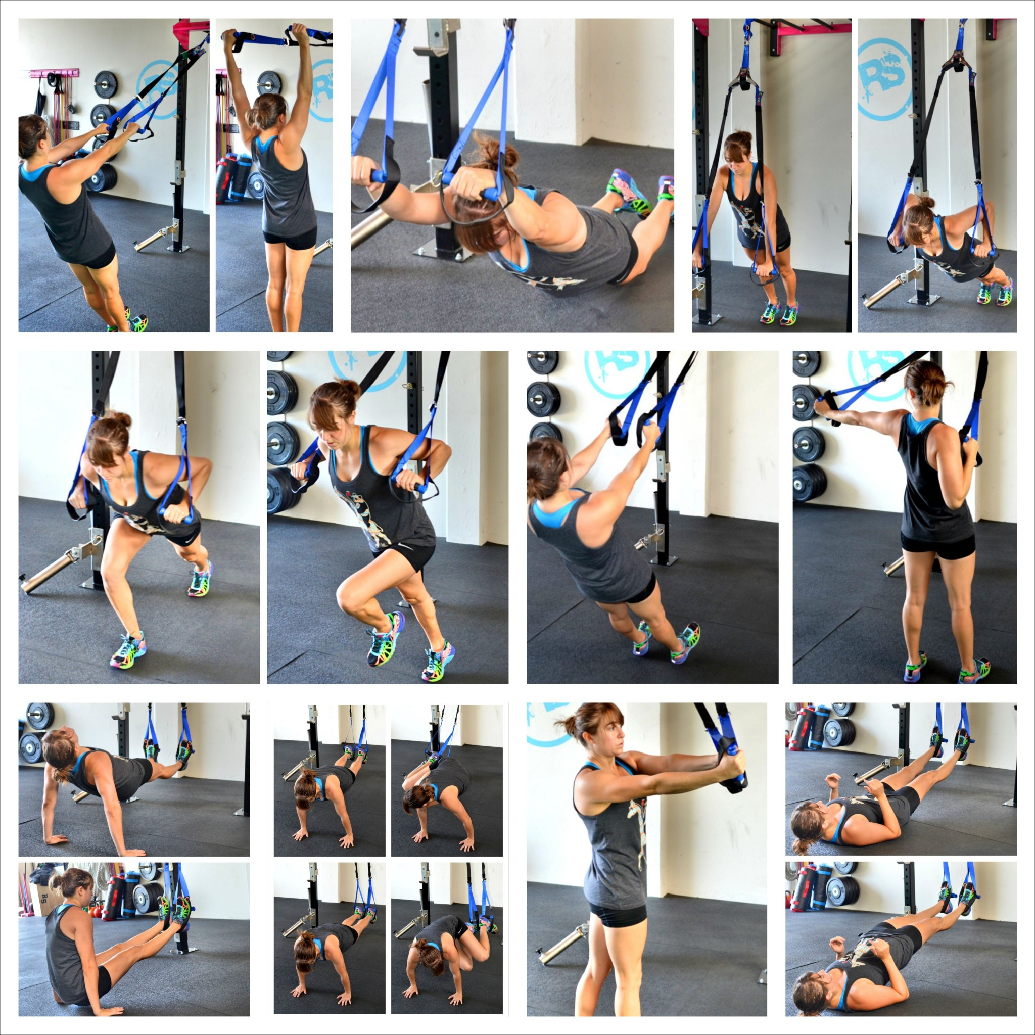 Suspension Training Exercises