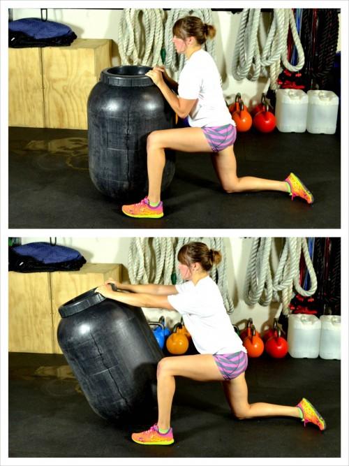 half-kneeling-barrel-pushes