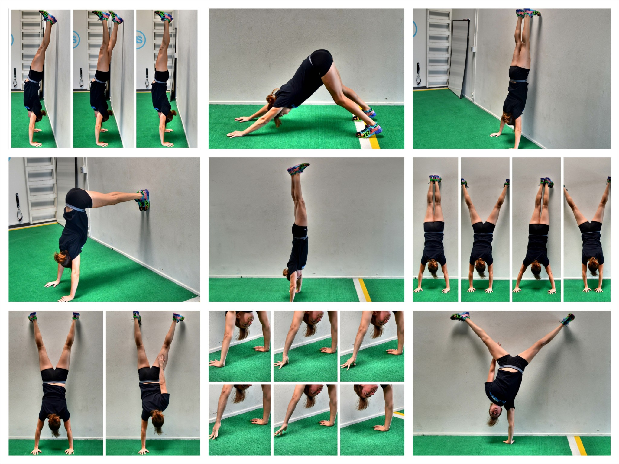 How to Work up to a Handstand Push Up