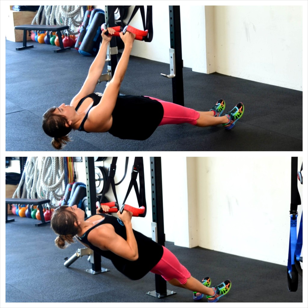 inverted row back exercise