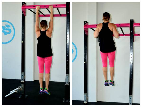 The Eccentric Pull Up Workout