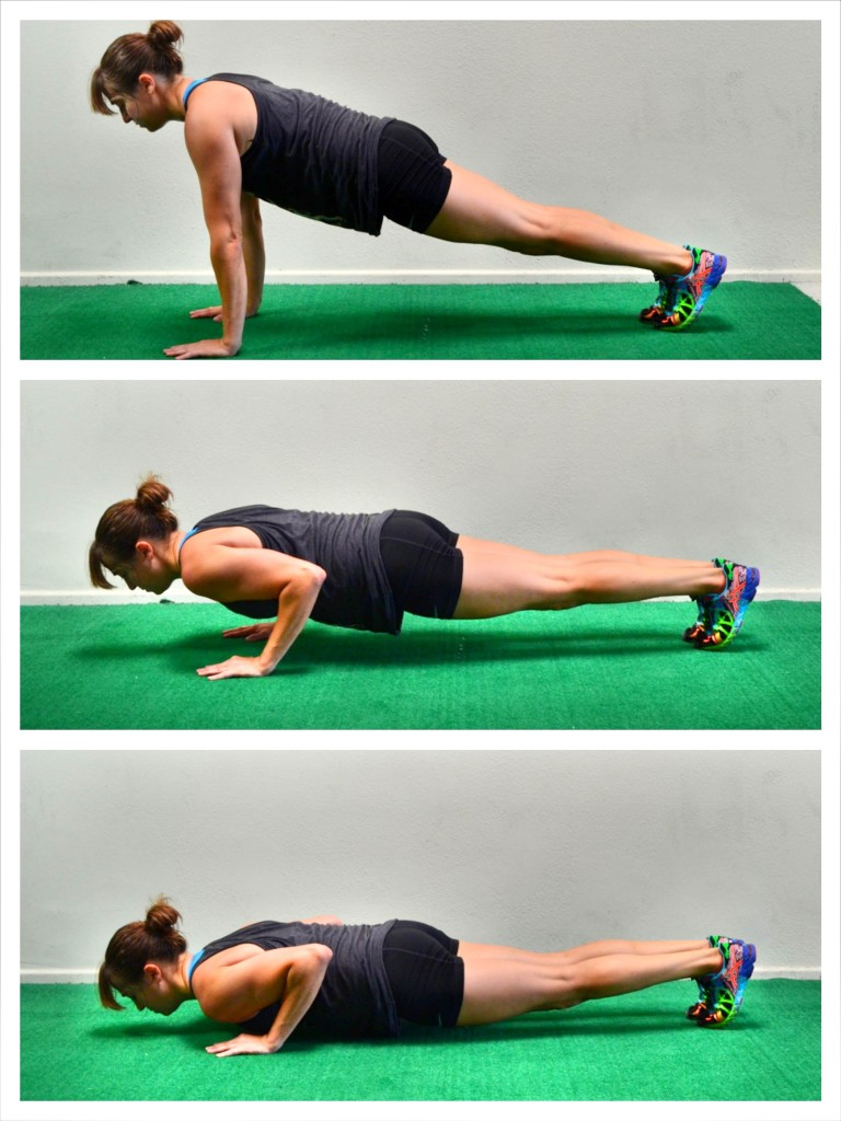 push up isometrics