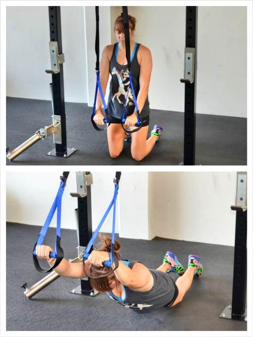 suspension trainer ab exercise