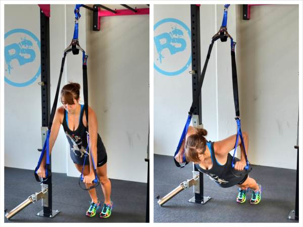Upper Body Suspension Trainer Workout