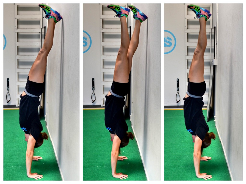 Watch How to Hold a Handstand on the Beam video