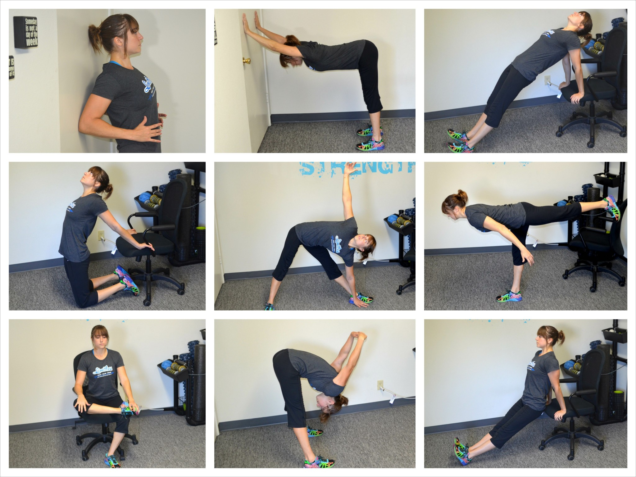 Desk Exercises – 10 Isometric Moves and Stretches To Do At Your Desk