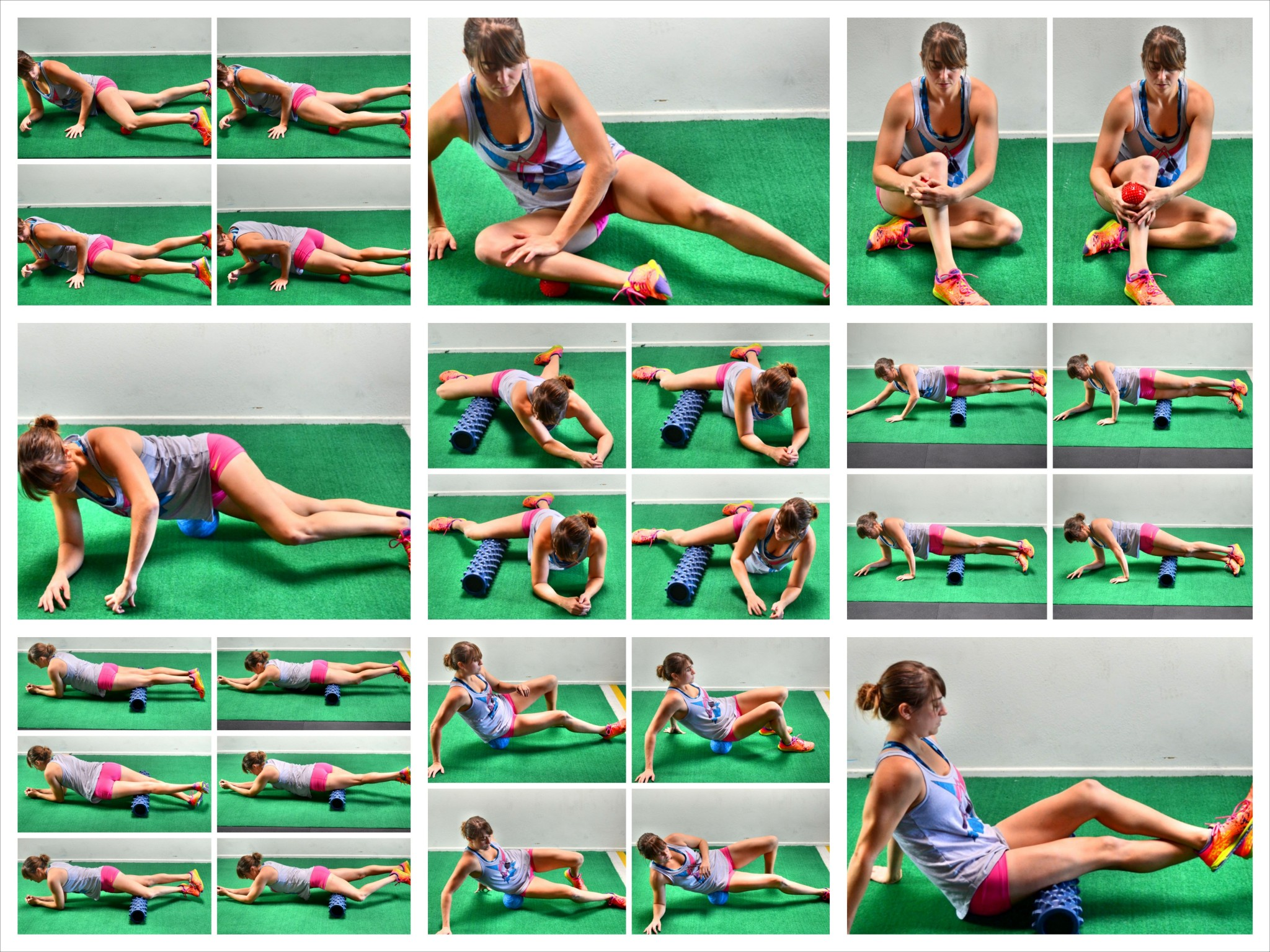 10 Lower Body Foam Rolling Moves