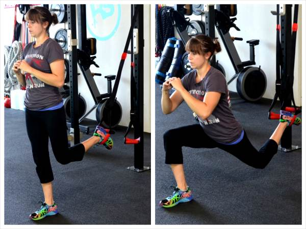 The Suspension Trainer Glute Workout