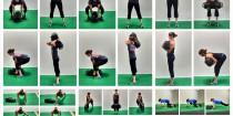 sandbag core exercises