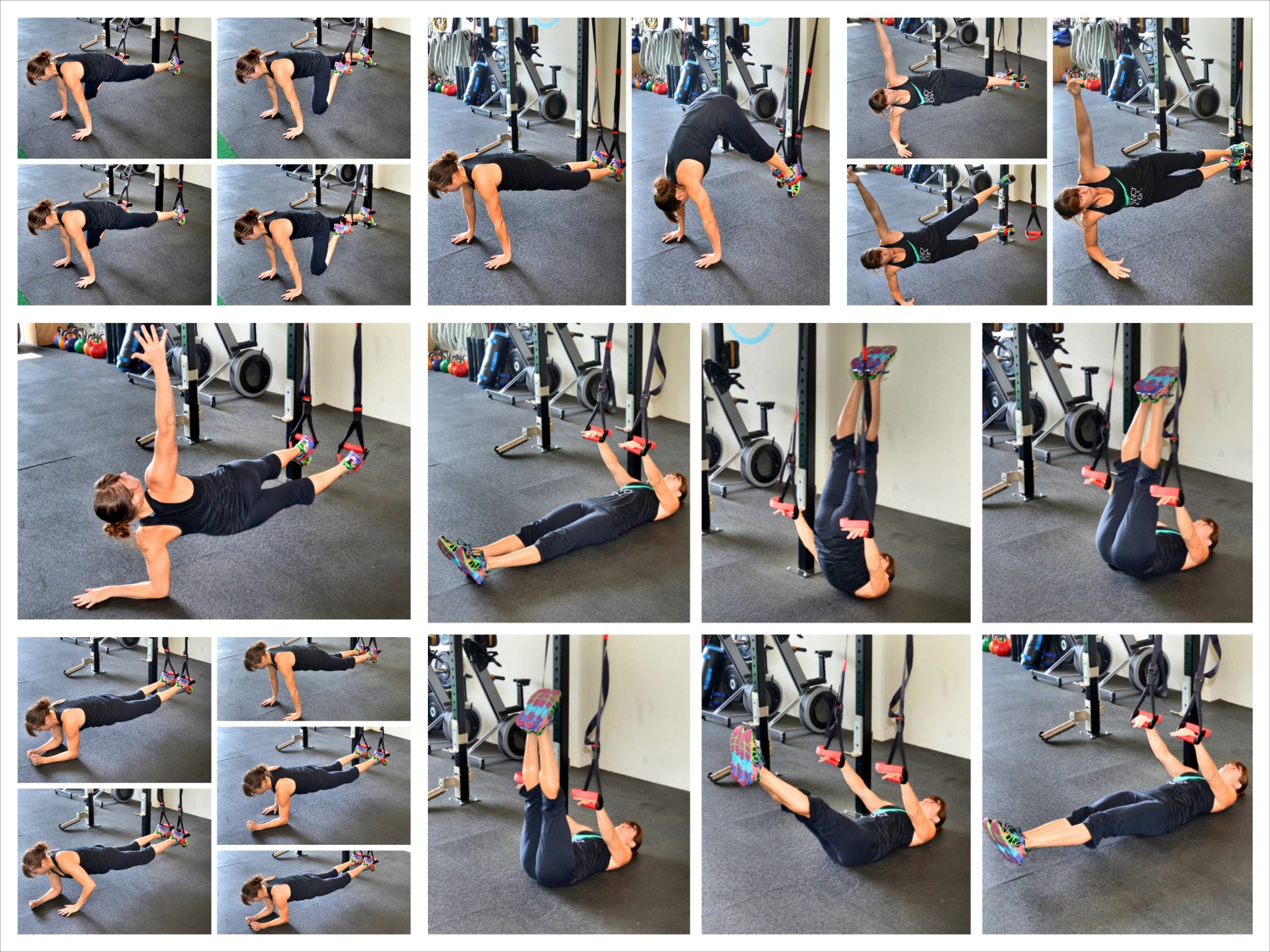 Crunchless Core Exercises – 10 Suspension Trainer Core Exercises