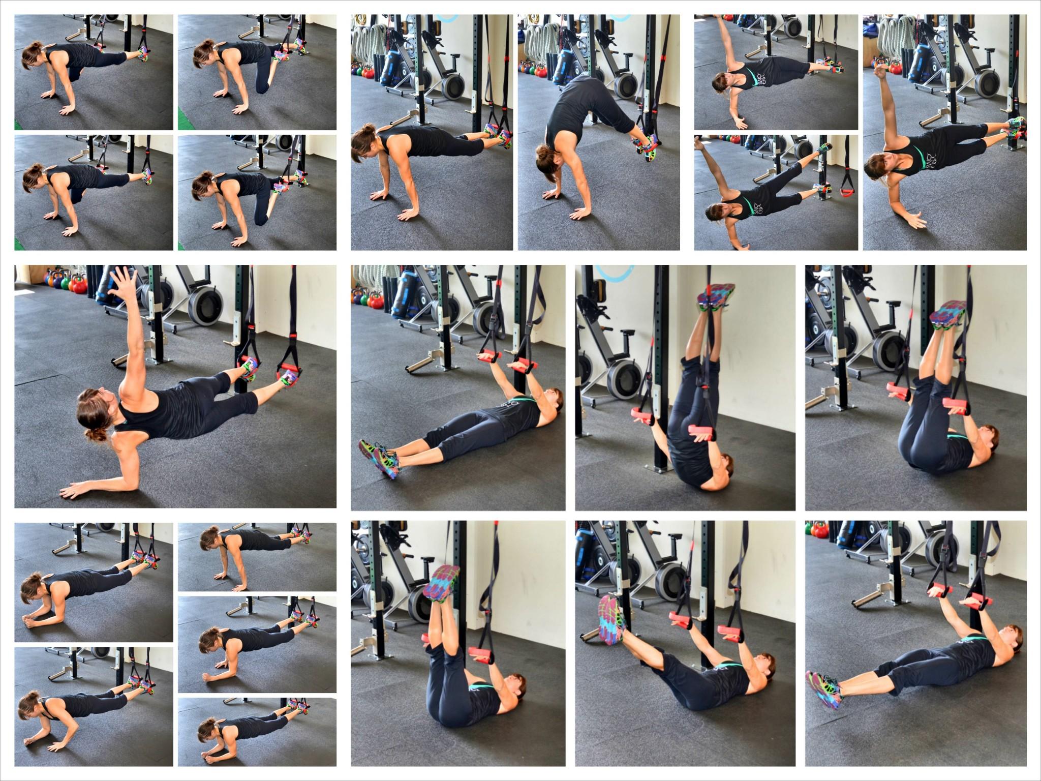 10 Suspension Trainer Core Exercises Redefining Strength