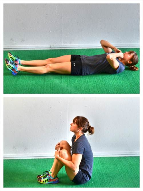 how to do sit ups at home