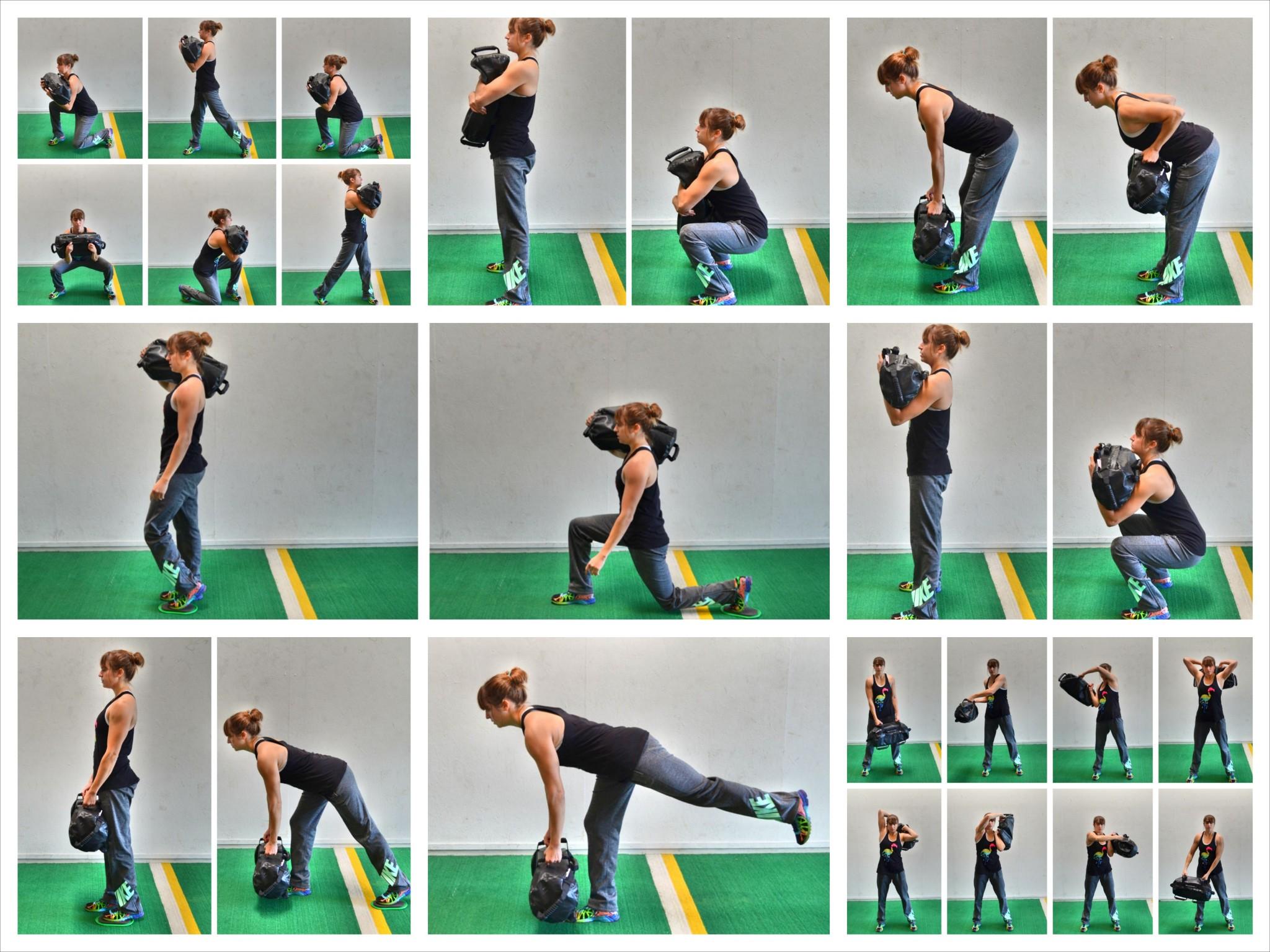 13 Sandbag Exercises | Redefining Strength