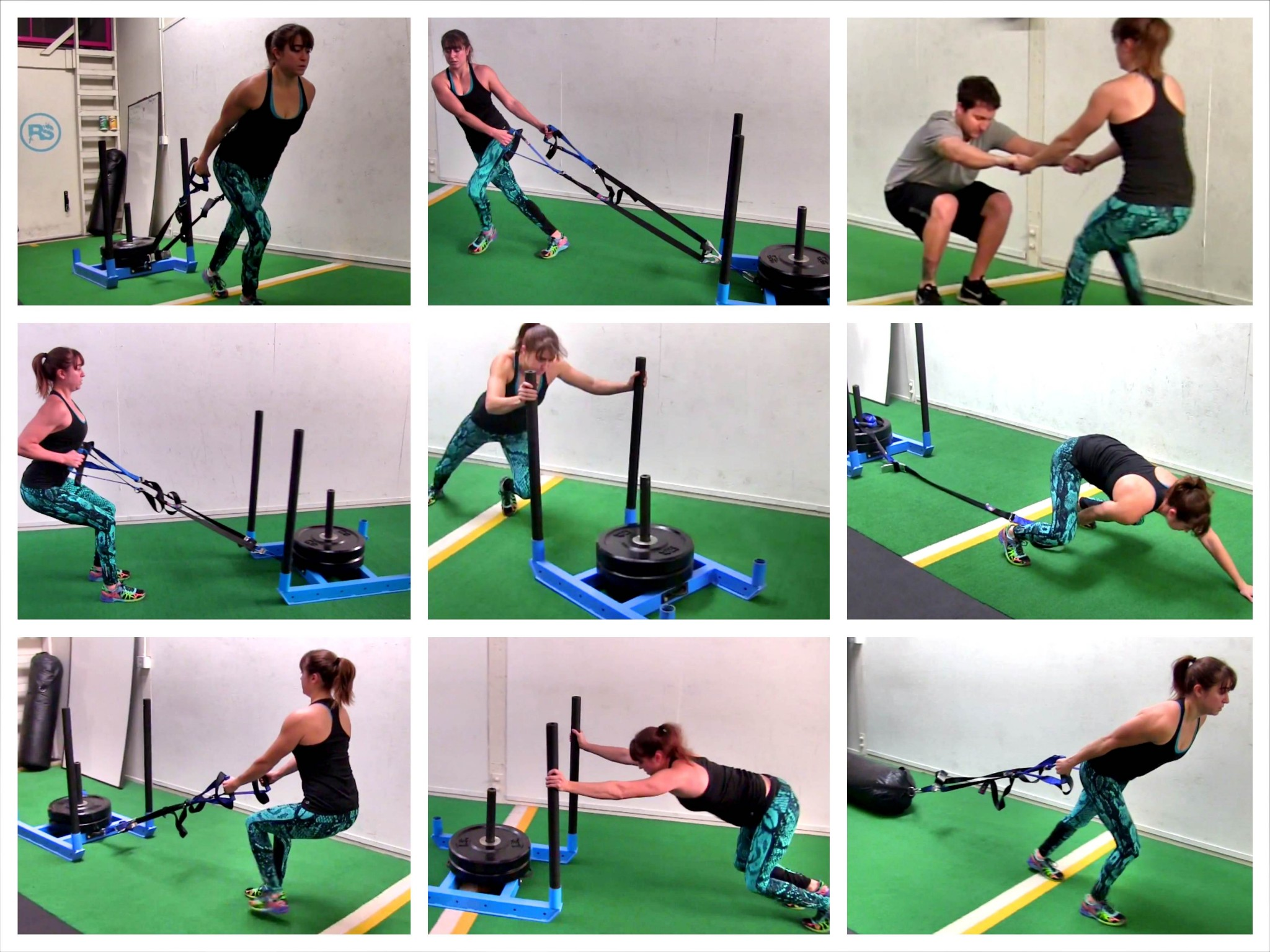 workout sled