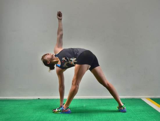 twisting-triangle-pose