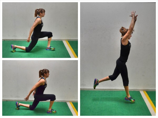 Modifying Cardio Moves – The Split Squat Jump