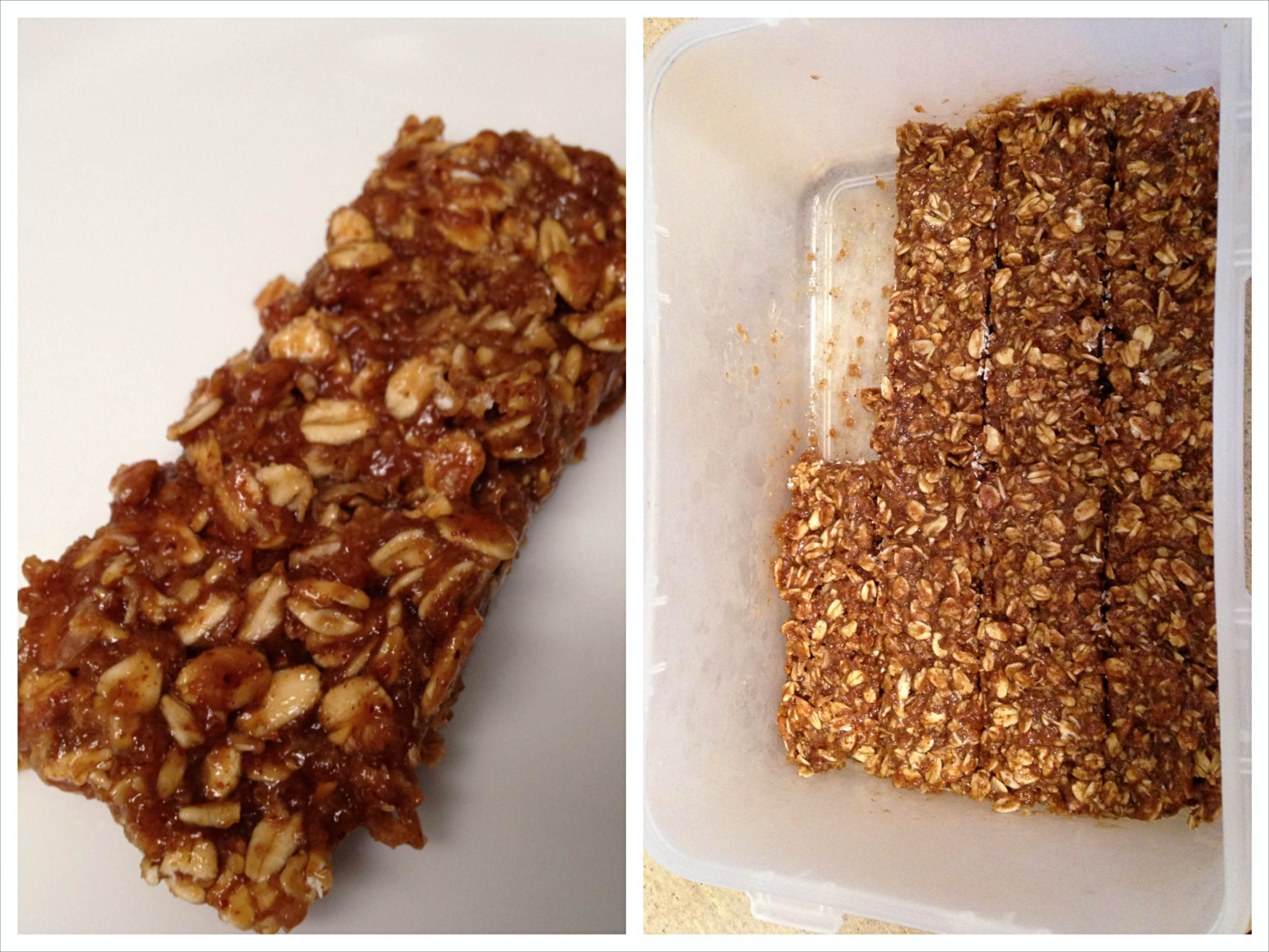 Homemade Protein Bars – Vanilla Almond Coffee Oatmeal Protein Bars