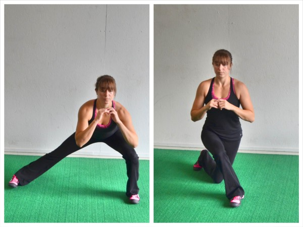 Lunge For A Stronger Core And Legs