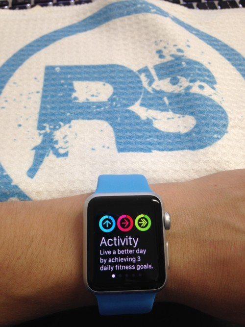 apple watch activity tracker