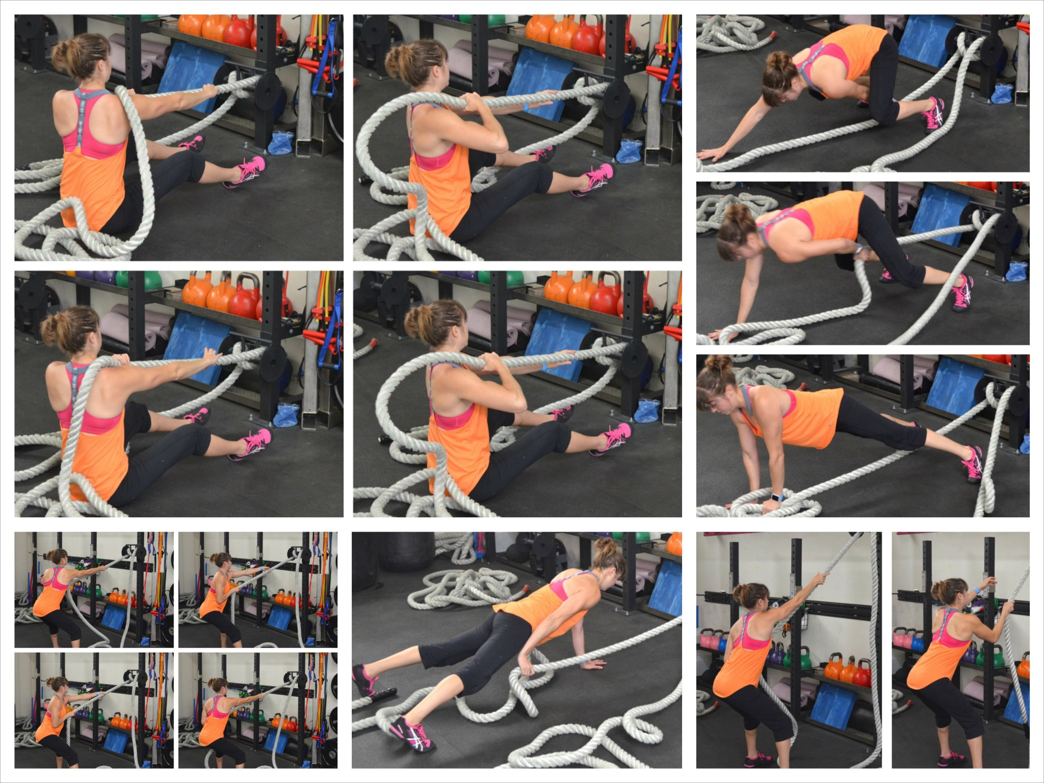 Battle Ropes Pulls | Redefining Strength