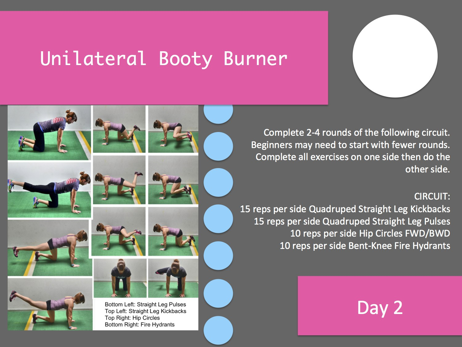 The 28 Day Booty Burner Challenge Superset Circuit Leg Up On Fitness Pinterest Pin It