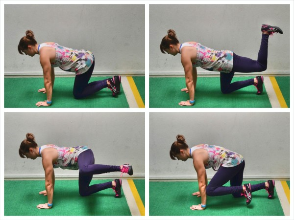 glute activation hip circles