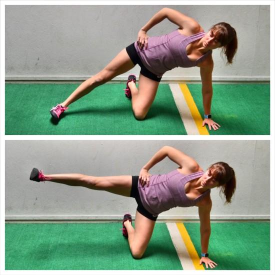 side balance leg lifts flute activation