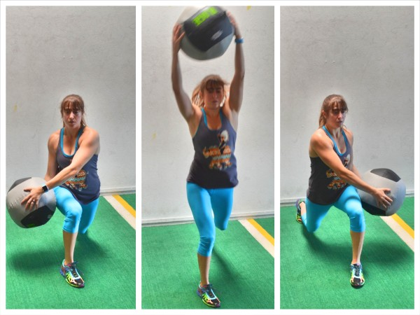 The 30/30 Med Ball Cardio Blast