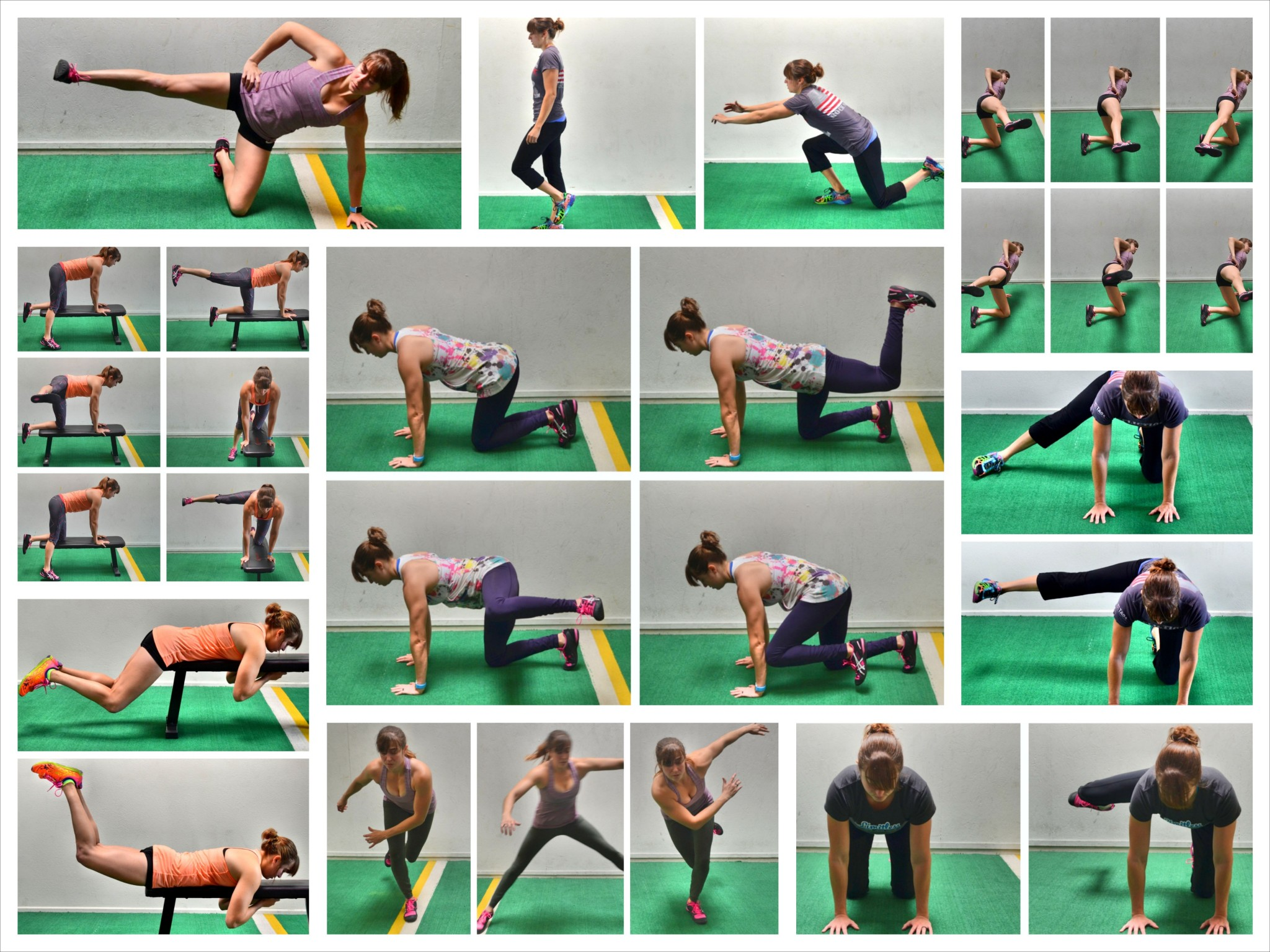 15 Bodyweight Glute Exercises Redefining Strength 15minute Circuit Beginner Lower Body Workout Target Those Glutes