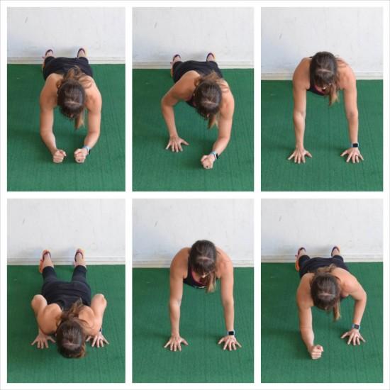 climber push ups