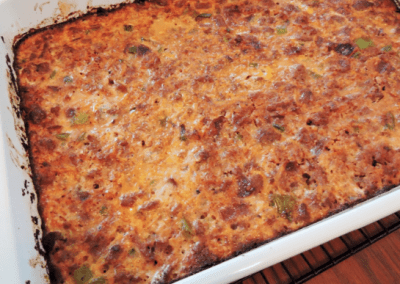 Low-Carb Enchilada Bake