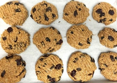 No-Bake Berry And Chocolate Chip Cookies