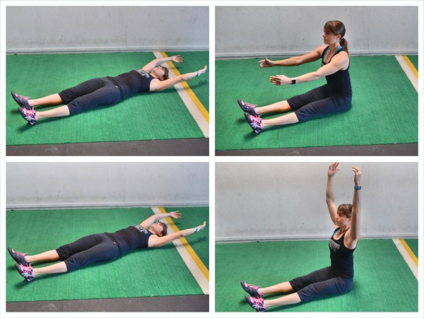 sit up exercises
