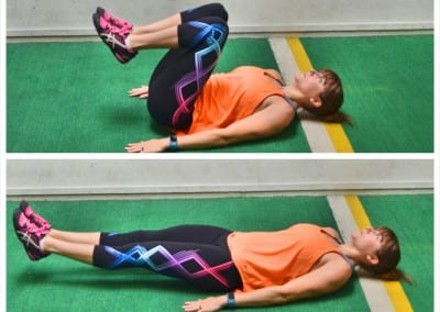 The 100 Ab Crunch Burn Out